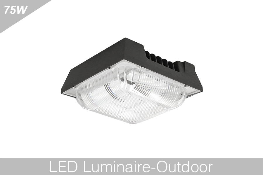 75w led canopy light
