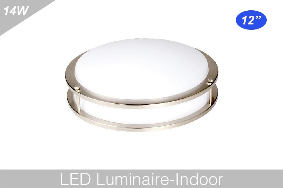 led round puff light