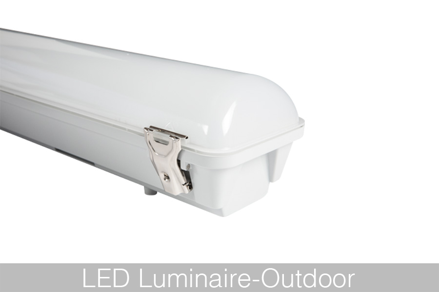 led vapor tight fixture