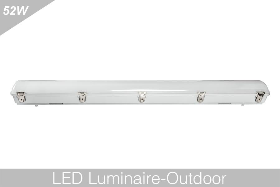 led vapor tight fixture